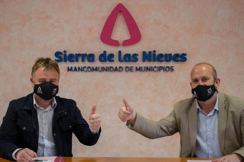 Presidente-union-deportiva-sierradelasnieves-José-Gonzalez-presidente-mancomunidad-Antonio-Rueda
