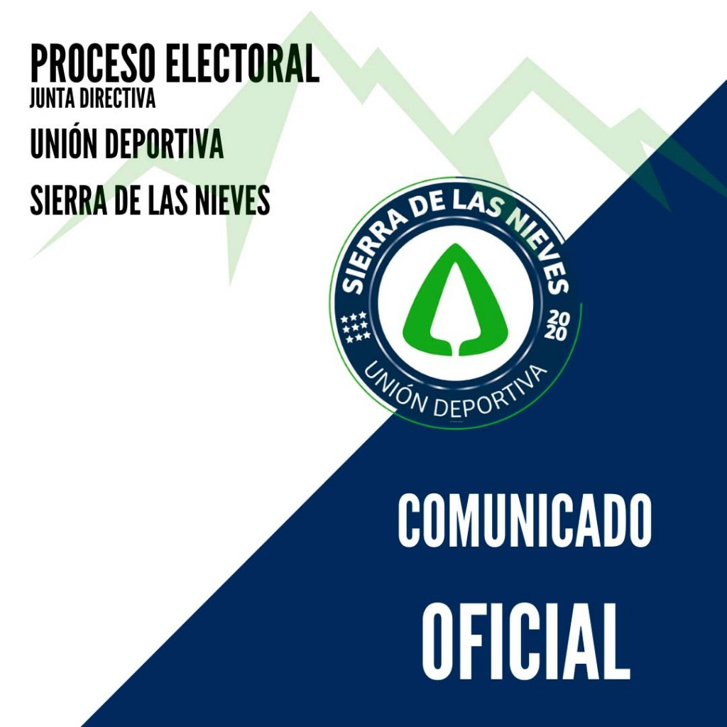 comunicado-oficial-proceso-electoral-union-deportiva-sierra-de-las-nieves-dando un plazo de 5 dias para alegaciones