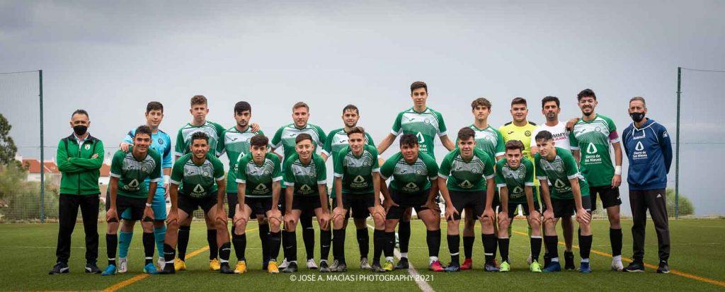 Juvenil Ud Sierra de las Nieves campeones de liga