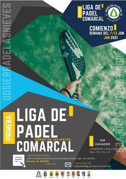I Liga de padel de la Union Deportiva Sierra de las Nieves