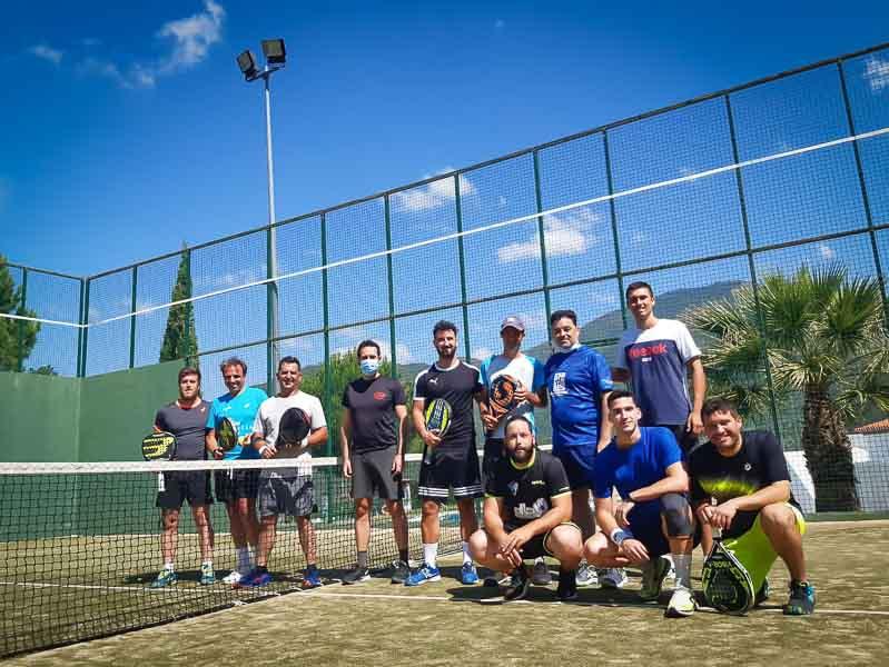 Ud Sierra de las Nieves - I Liga de padel - jugadores