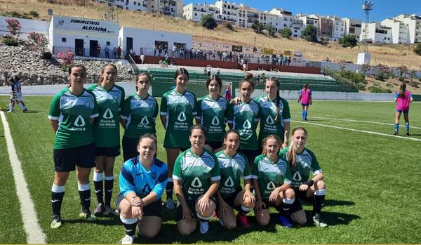 Equipo femenino Ud Sierra de las Nieves Jornada del 19 y 20 de junio, La crónica de la Sierra de las Nieves.