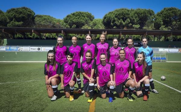 femenino-puerto-de-la-torre-jugadoras en la Sede Deportiva de los Arbolitos yunquera