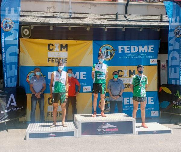 Deportista de la Sierra de las Nieves es bronce en el Kilómetro Vertical
