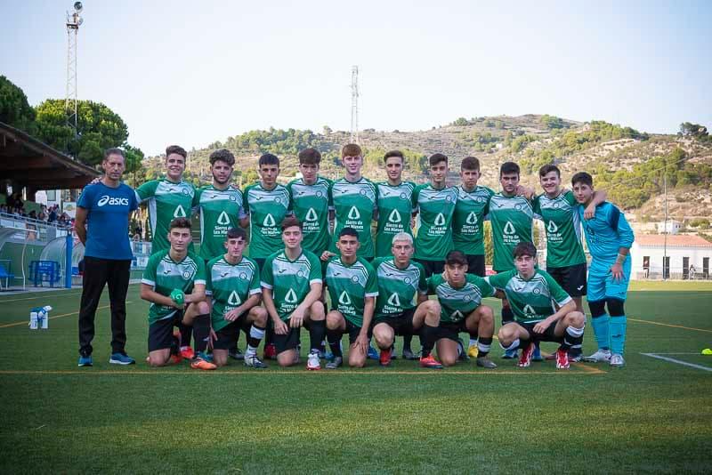 Jornada de mediados de octubre - Equipo Juvenil de la Unión Deportiva Sierra de las Nieves